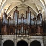 Organ in Bordeaux, France