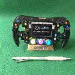 Lewis Hamilton_1/2 Size_Replica W10 steering wheel_F1_World Champion_Mercedes