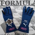 NOW SOLD-Valtteri Bottas used 2017 Mercedes drivers gloves