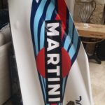 NOW SOLD-Williams Martini FW38 full engine cover
