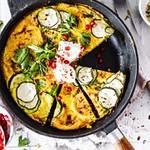 Super einfaches Rezept für eine Zucchini Frittata