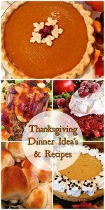 Thanksgiving dinner ideas pinterest pin