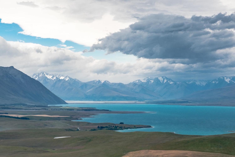 Lake Tekapo und die Southern Alps