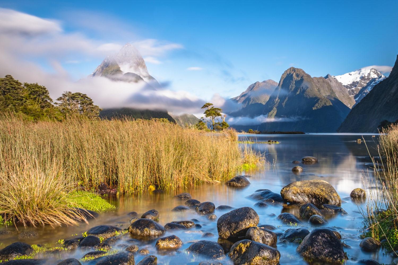 Milford Sound & Mitre Peak