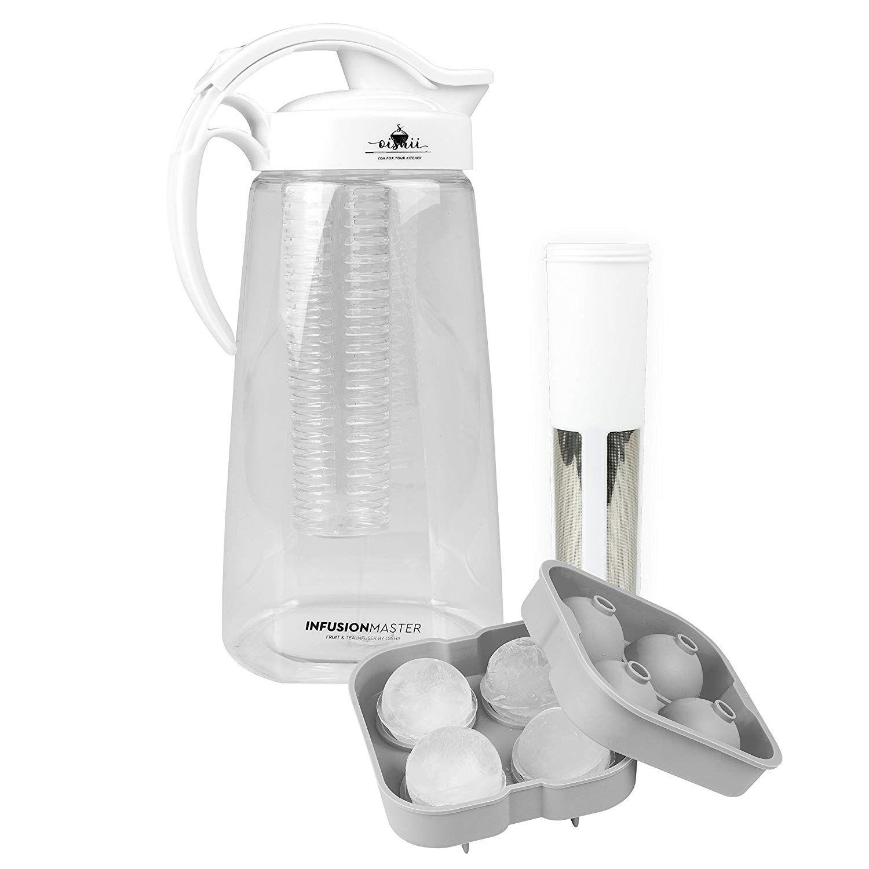 Oishii Infusion Master – Conjunto con infusor y jarra de 2200 ml – Inserción para té