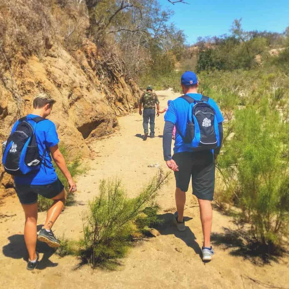 Mountainside mexico trip hiking