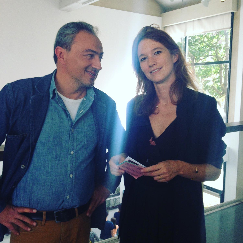 Guillaume Zuili et Dune Varela, deux artistes en résidence au Champ des Impossibles © Christine Ollier