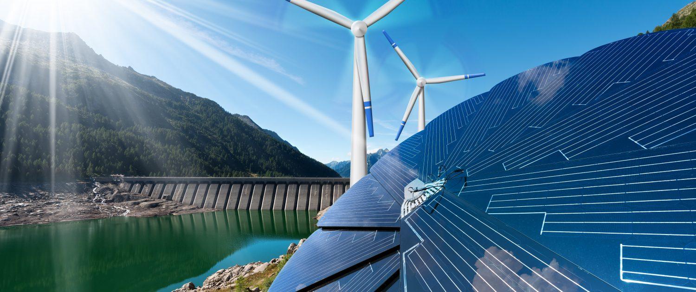 Wind-, Solar- und Wasserwerk