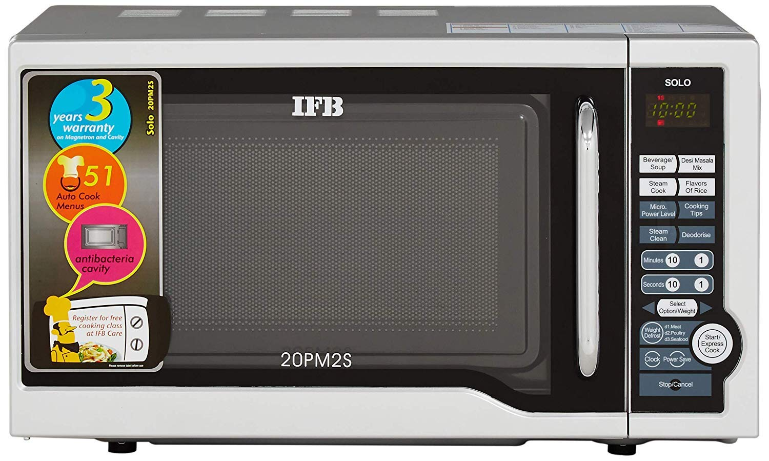 IFB Solo 20PM2S 20 Liters  Microwave Oven