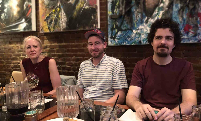 Mountainside dinner meeting