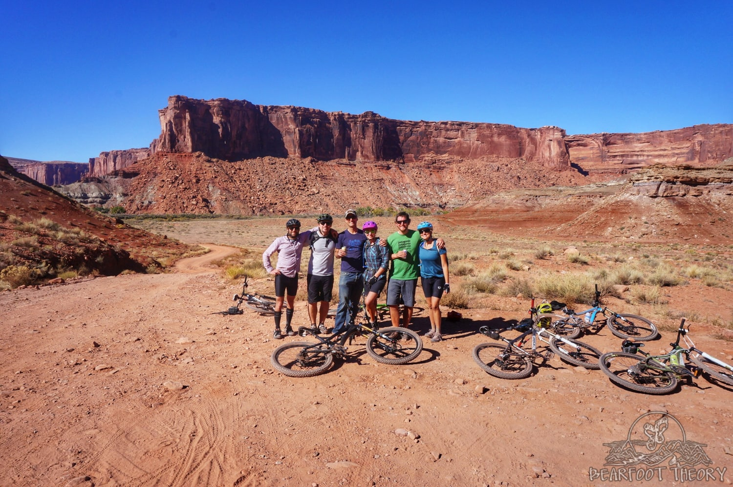 Mineral Bottom on the White Rim Trail in Canyonlands National Park