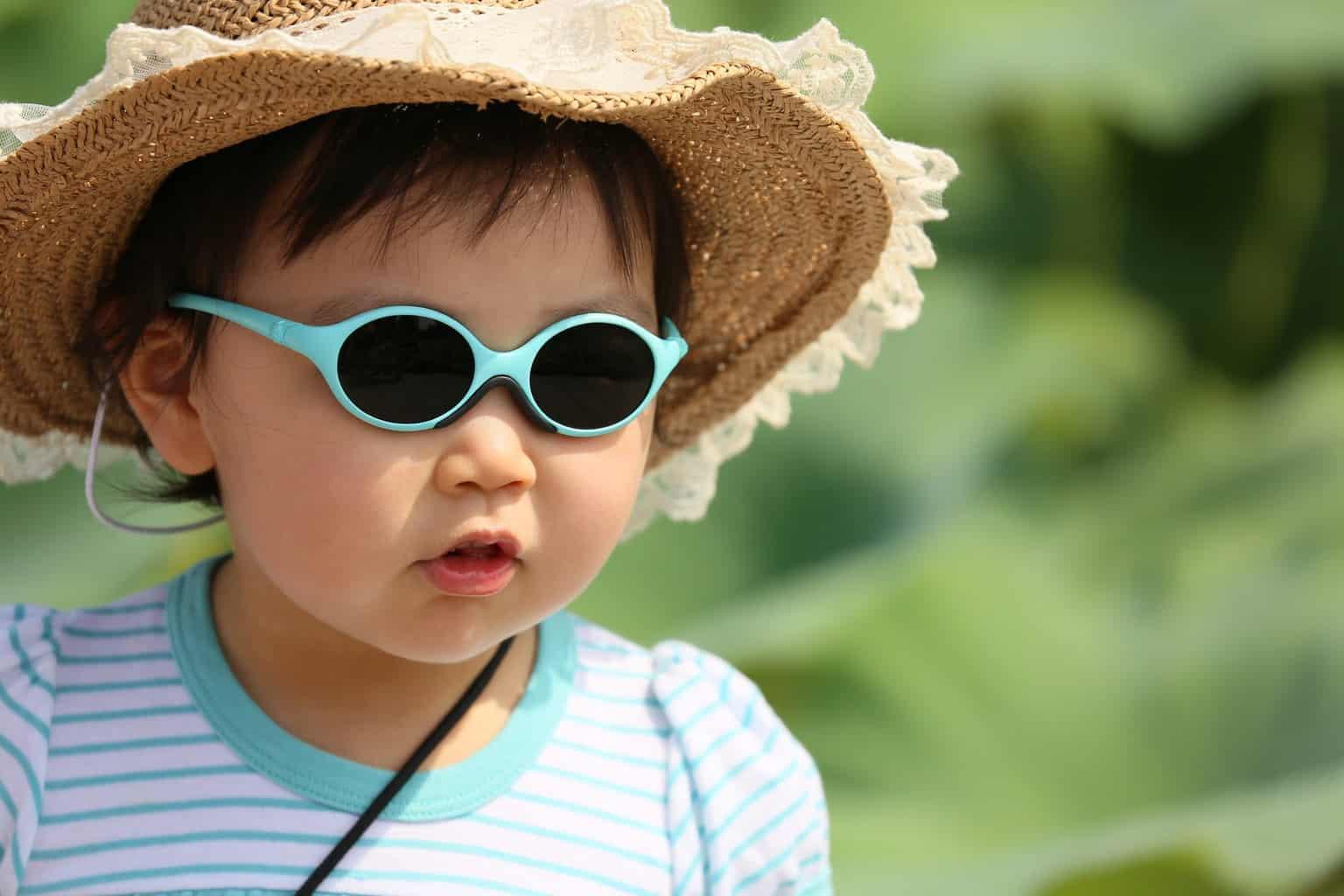 Kule solbriller til barn
