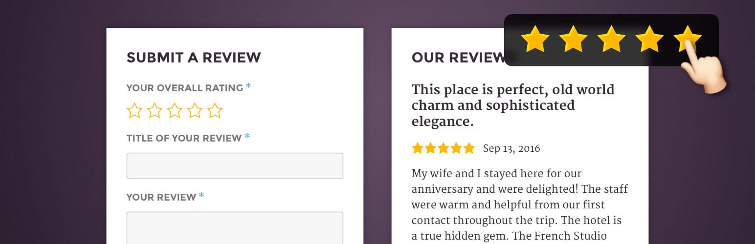 Site Reviews Plugin