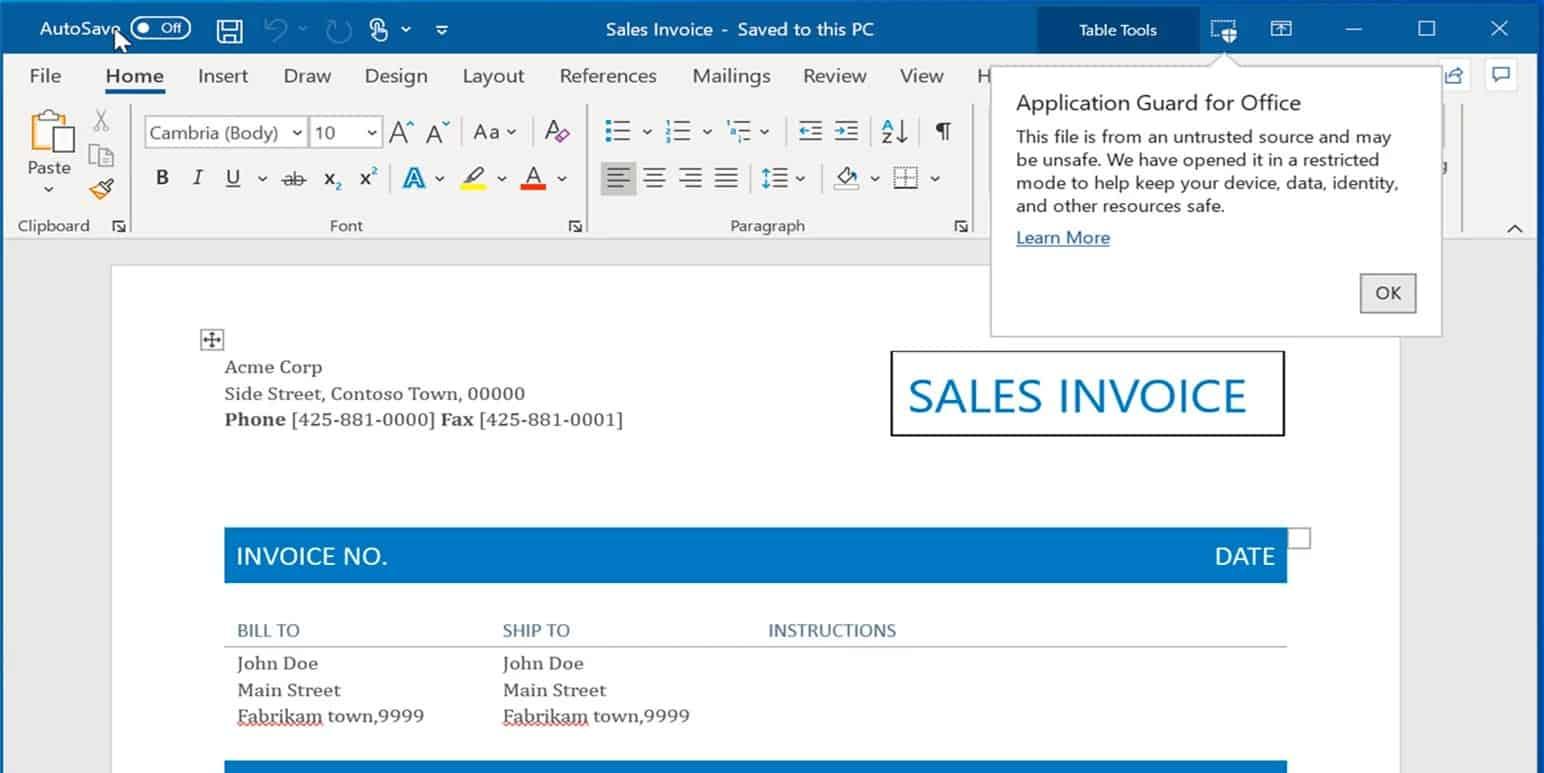 Office 365 novidade