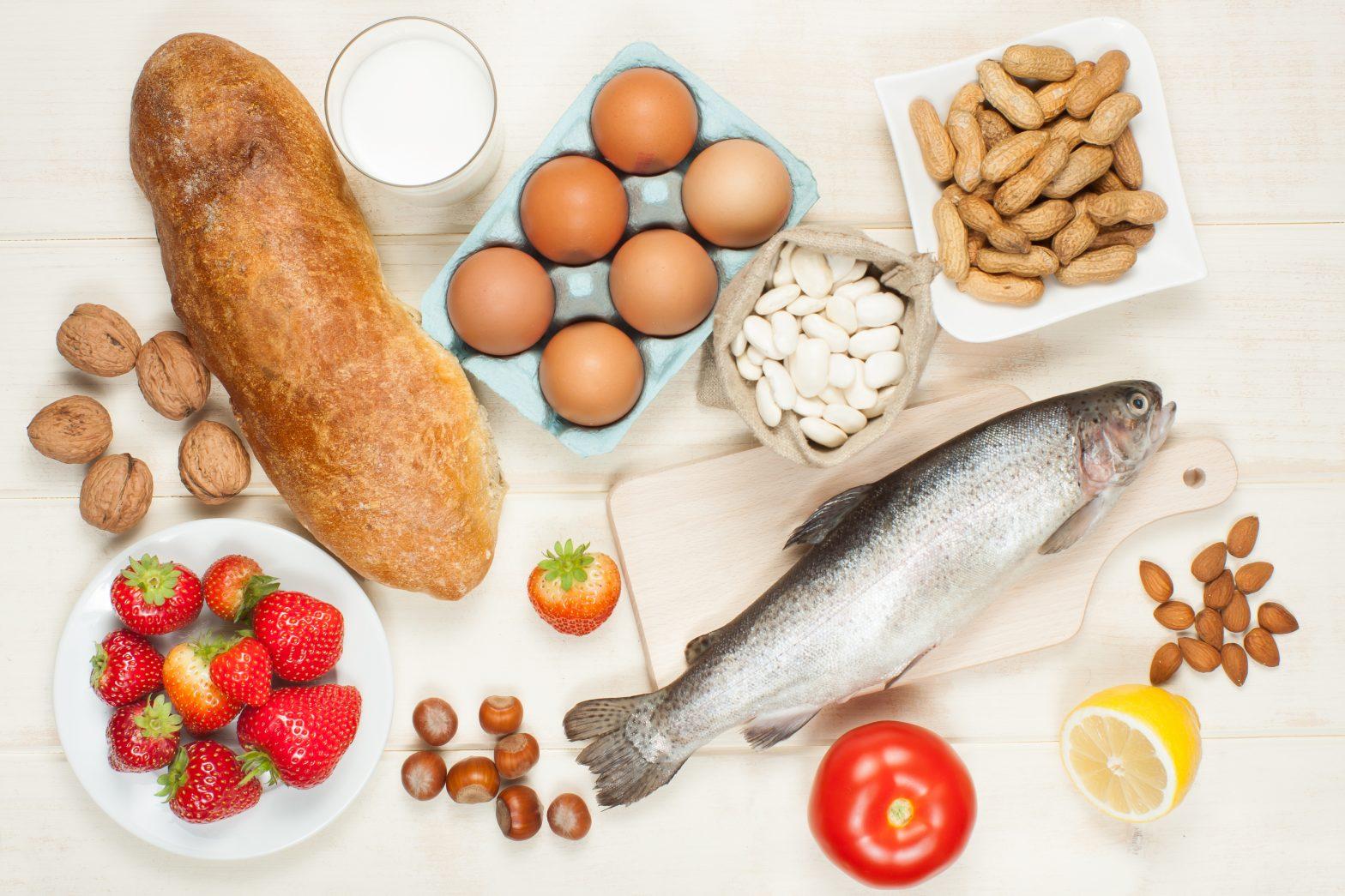 Potentiellt allergen mat