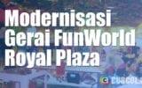 Transformasi Game Center FunWorld Royal Plaza Surabaya