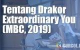 Tentang Drakor Extraordinary You (MBC, 2019)