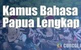 Kamus Bahasa Papua Lengkap