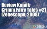 Review Komik Grimm Fairy Tales #21 (Zenescope, 2008)