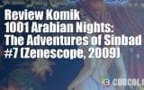 Review Komik 1001 Arabian Nights: The Adventures of Sinbad #7 (Zenescope, 2009)