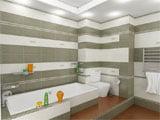 Дизайн проект ванной комнаты и туалета