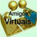 Amigos virtuais 👨💻🌍