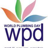 world plumbing day banner