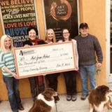 Applewood Awards $1,000 check to Art from Ashes