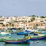 Malta – Marsaxlokk i Pretty Bay