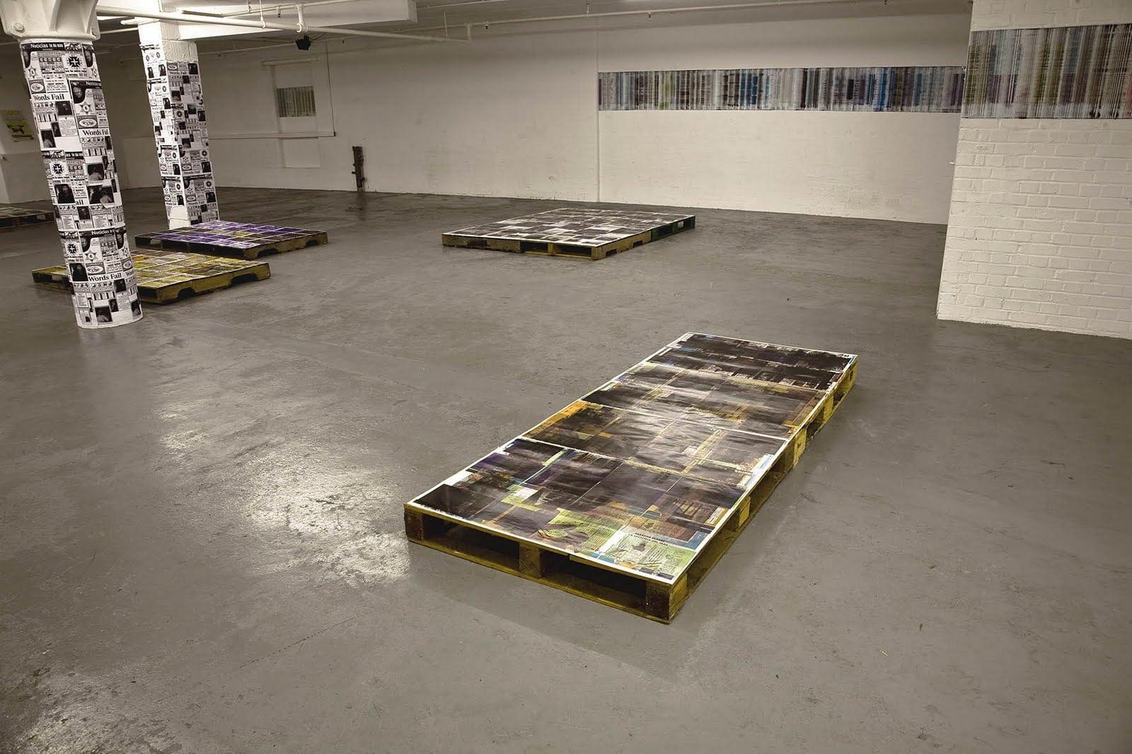 Principal Peripheries of Storage Javier Rodriguez  Waterside Project Space August 2009  http://petitpoi.net/waterside/