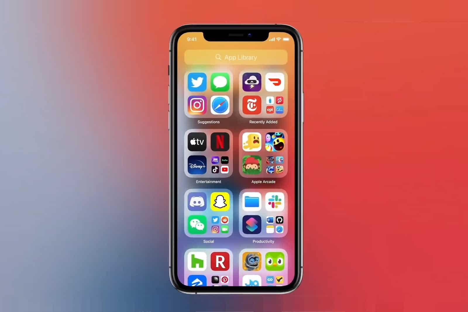 iOS 14 novo