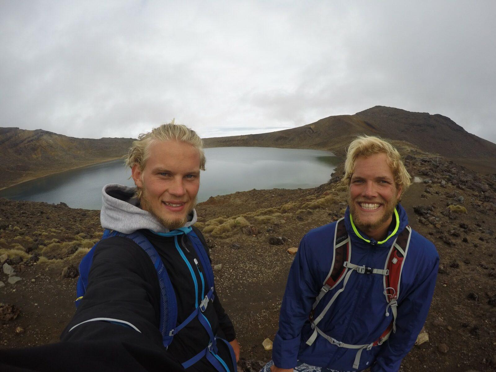 Mikkel og rasmus på backpacking rejse