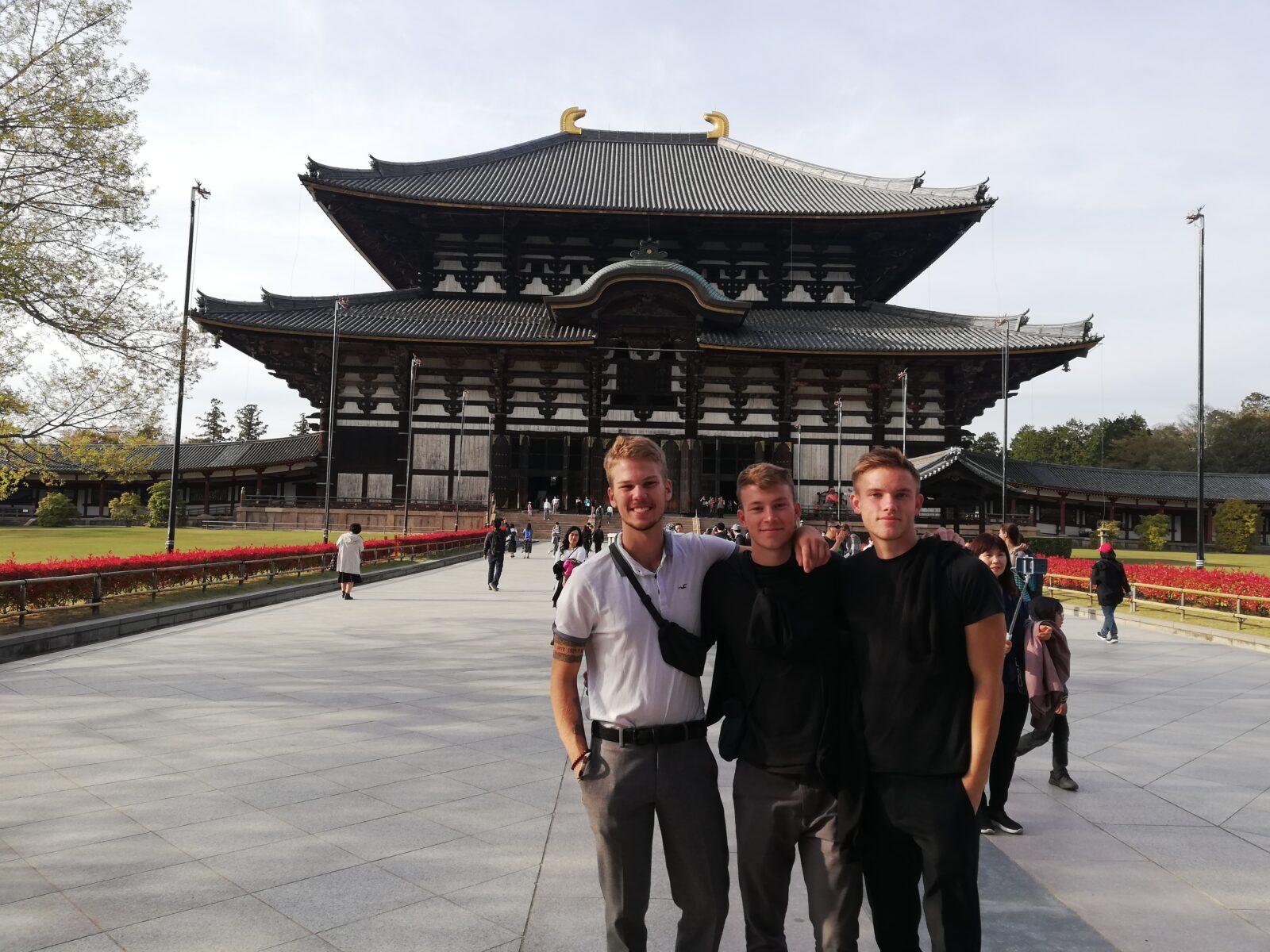 Rejse til Japan: Tre uger og tre drenge med rygsæk i Japan