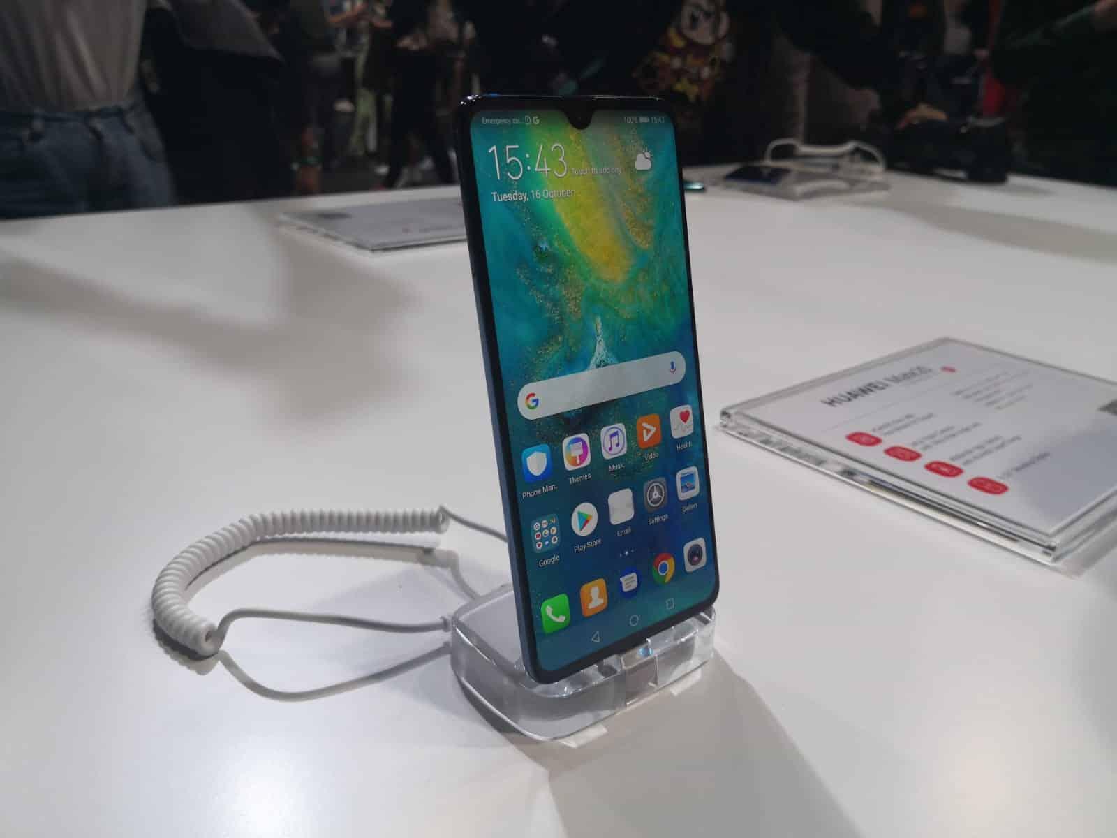 Huawei Mate 20 X 5G: