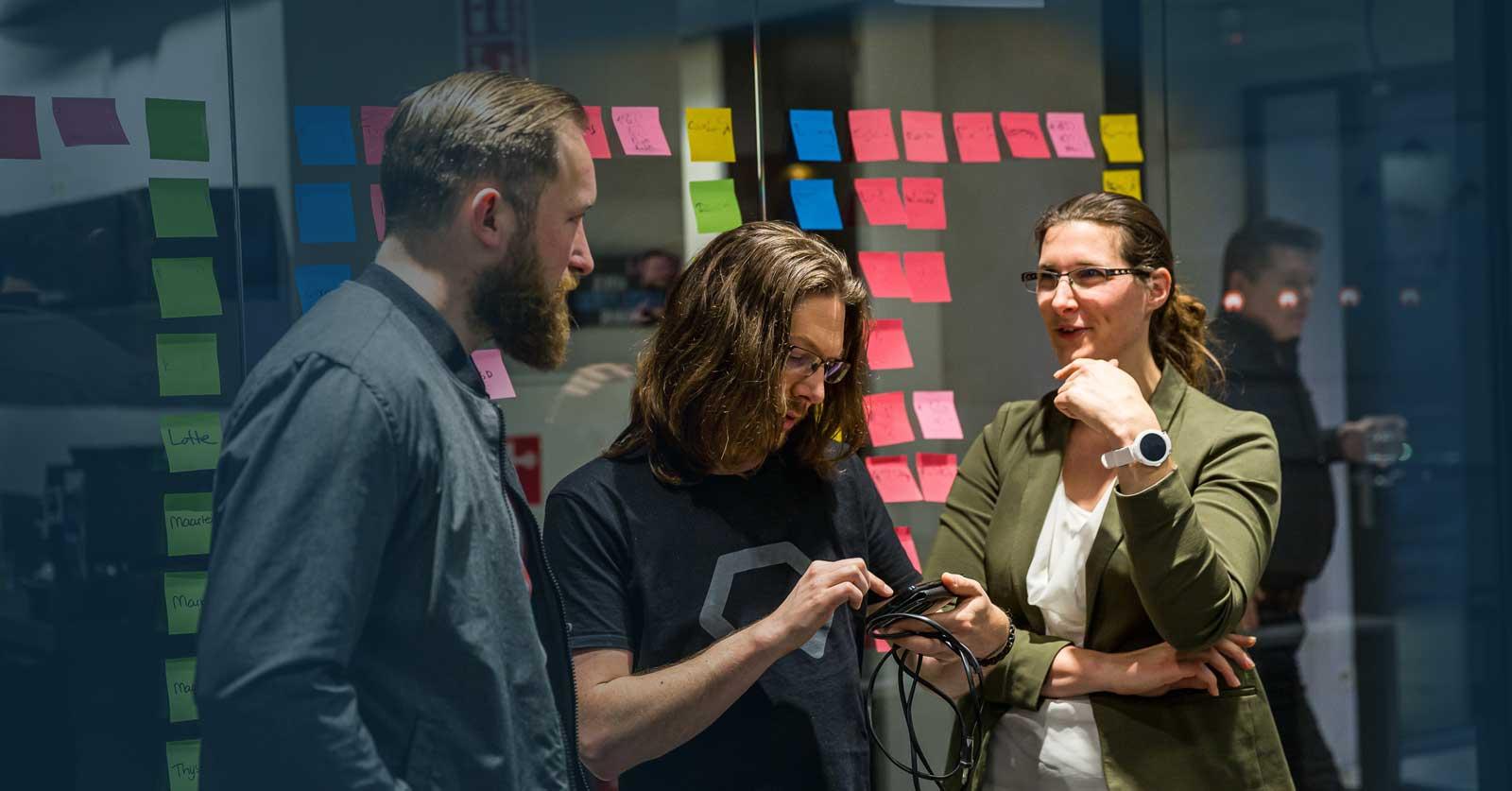 Lotte Laan and Wouter de Geus - Cloud engineers at Binx