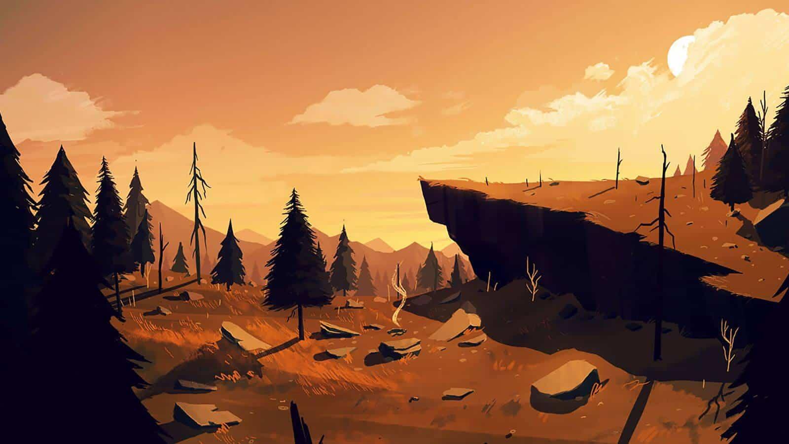 بازی ویدیویی فایرواچ (جنگلبان) - FireWatch Video Game