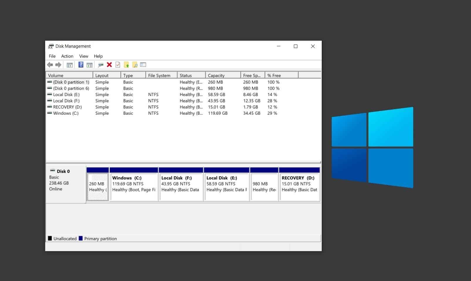 Windows 10 Pendrive