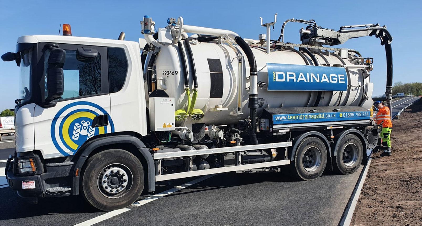 Jet Vac Drainage Unit