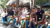 Экскурсии в Мексике и туристы в Коба