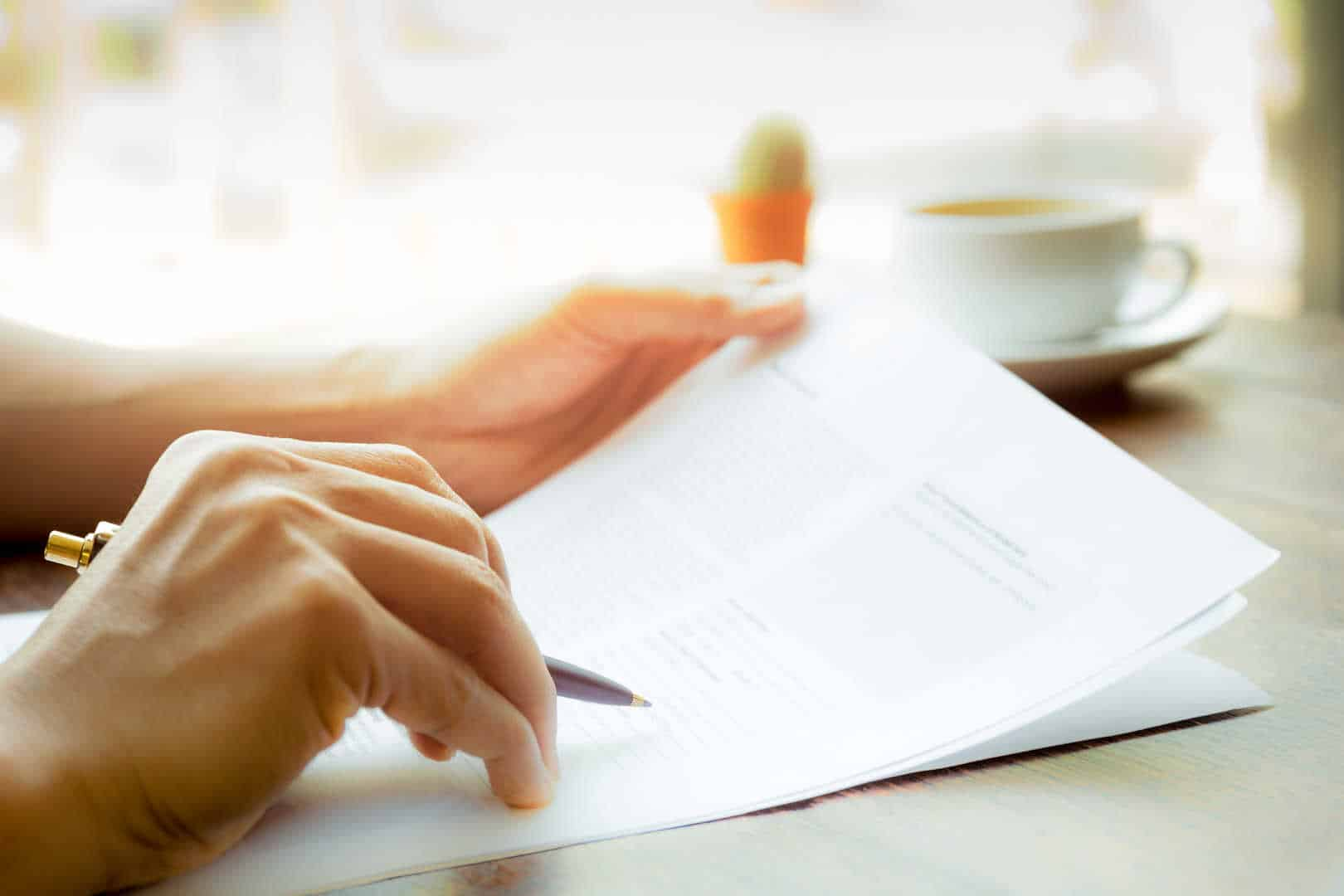 A good policy to check the paperwork shutterstock