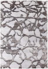 szary ekskluzywny dywan 3D - Senses Drought 7075