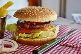 fast food burger mcdonald's