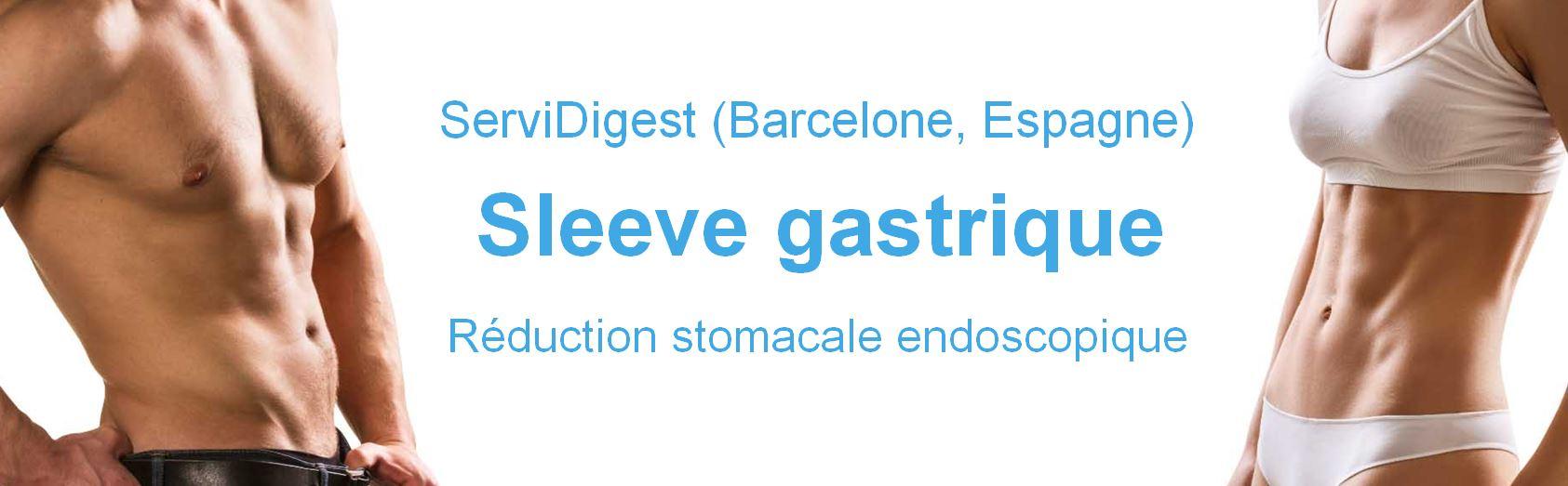 Sleeve gastroplastie (Sleeve endoscopique - Endosleeve) Prix Espagne