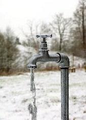 Защитете водопровода от замръзване