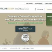 GenerationGold - Partnersuche für Singles ab 60 Jahren