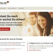 Chringles.de - Christliche Singles aus Deutschland (Screenshot 2017)