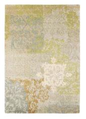 zielono beżowy dywan w ornamenty Yara Venice 196207
