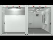 CHV Triagestation Innenansicht