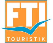 FTI Touristik, Quelle: https://it.wikipedia.org/wiki/File:FTI_rgb_ohne_Claim.png