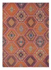 pomarańczowy dywan wełniany Yara Nomad 33403
